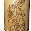 Vaso de Bambú pictograbado