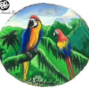 Pareja de Guacamayas