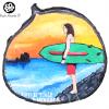 Artesanía en madera pintad a mano de la playa el tunco El Salvador