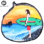 Playa el tunco Surfin