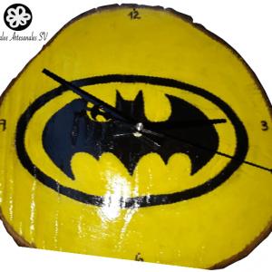 Reloj de pared del logo de batman rasv