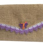 Billetera con mariposa y rivete morado-01-01