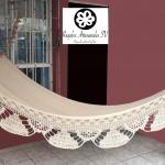 Hamaca de algodón con flecos y madera-01