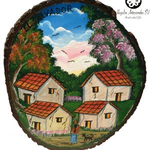 Casas de pueblo en El Salvador