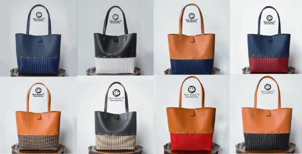 Nuevas carteras cuero con base de plástico-01
