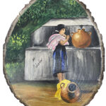 Mujer en chorro-01
