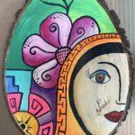 Mujer y Flor